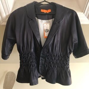 Cynthia Steefe Leather Jacket